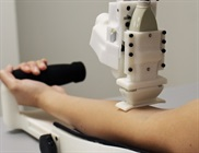 Robot Does Superior Job Sampling Blood