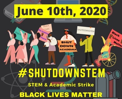 ShutDownSTEM Initiative Sees Scientists Work on Racism, Not Research